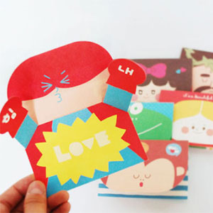 HOORAY pop up card