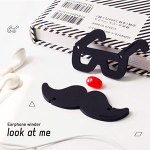 Look at me earphone winder