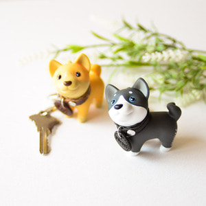 Doggi & Kitty Keyring